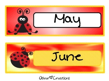 Days of the Week & Months in the Year