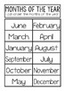 Days of the Week | Months of the Year