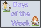 Days of the Week Posters/Flash Cards