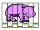 Days of the Week Puzzles Zoo Theme