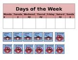 Days of the Week - School/No School