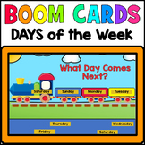 Days of the Week Sequencing BOOM CARDS