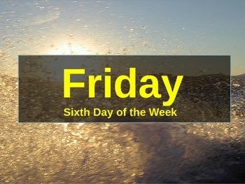 Days of the Week Slideshow