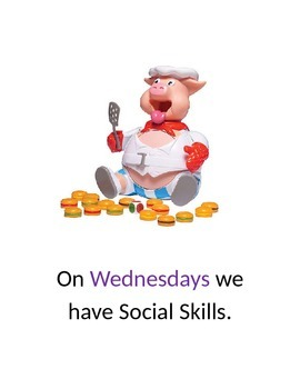 Days of the Week Social Story (Editable)