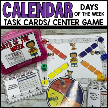 Days of the Week Task Cards