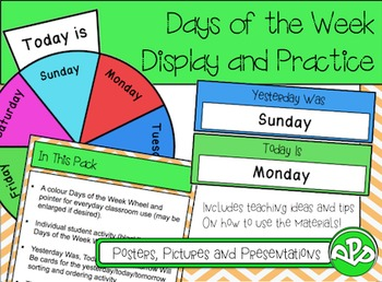 Days of the Week Display Pack FREEBIE!!