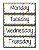 Days of the Week (The Very Hungry Caterpillar)