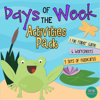 Days of the Week Activites