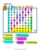 Days of the Week {Word Search}