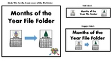 Days of the Week and Months of the Year Bundle