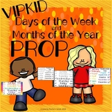 Days of the Week and Months of the Year Prop - VIPKID