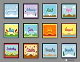 Days of the Week and Months of the Year Sequence Boards fo