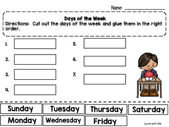 Days of the Week for ELL