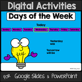 Days of the Week for Google Slides and PowerPoint (Distanc