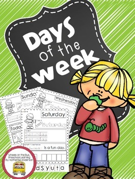 Days of the Week set