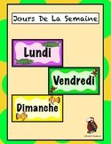 Days of the Week with Sea Creatures - French