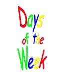 Days of the Weeks Book