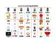 Mandarin Chinese Days of the week Bingo game (Chinese version)