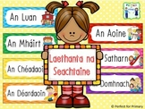 Days of the week as Gaeilge