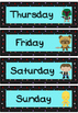 Days of the week flashcards (Star Wars theme)