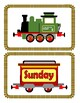 Days of the week trains