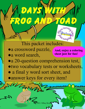 Days with Frog and Toad Packet