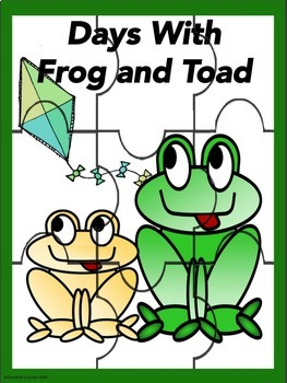 Frog and Toad Days With Frog and Toad Guided Reading Novel Study  No Prep