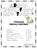 Days with Frog and Toad (Supplemental Materials)