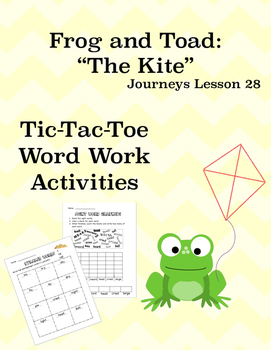 Days with Frog and Toad: The Kite Journeys Lesson 28