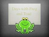 Days with Frog and Toad story slides