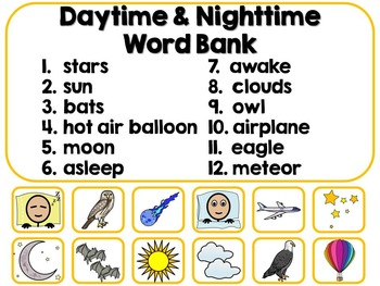 Daytime & Nighttime Adapted Interactive Book {Autism, Early Childhood}