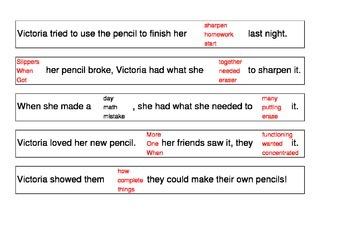 Daze Practice Dry Erase Sentence Strips