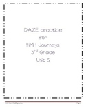 Daze practice for HMH Grade 3 Unit 5