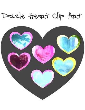 Dazzle Heart Clip Art