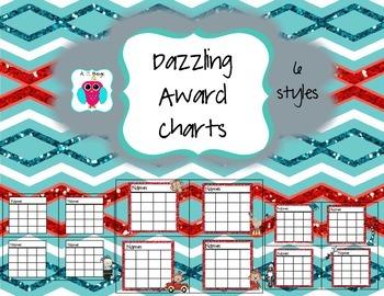 Dazzling Behavior Chart Set