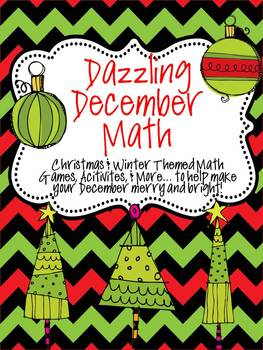 Dazzling December Math Pack: A Christmas & Winter Themed Unit