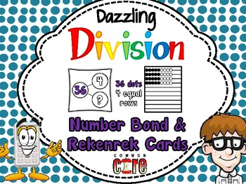 Dazzling Division Number Bond and Rekenrek Cards