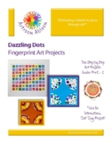 Dazzling Dots Fingerprint Art Project