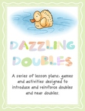 Dazzling Doubles - Two Full Lesson Plans, Resources and Double the Cost Center