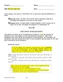 DBQ Template - Based on New York State Regents Exam