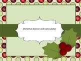 Décore de Noël