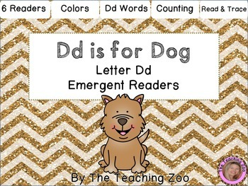 Letter of the Week Readers - D d is for Dog