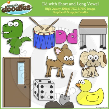 D Short and Long Vowel