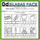 Dd Spanish Syllables Pack - La Silaba Dd