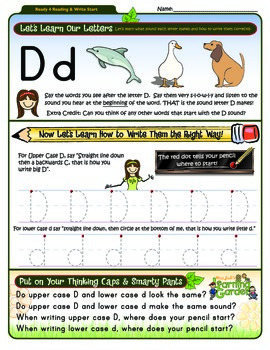 Dd Worksheet