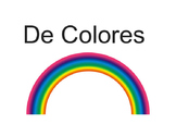 "Spanish Folk Song ""De Colores"""
