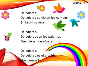 De Colores Sing-Along