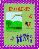 De Colores- Mariachi Music (MP3), Worksheets,and Pictures