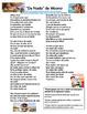 De Nada Spanish Song Lyrics and Activities from Moana