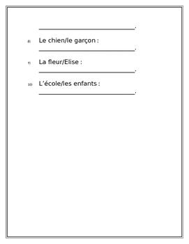 De/Possession Worksheet